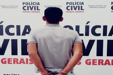 Polícia Civil prende autor de tentativa de feminicídio em Santa Rita do Sapucaí