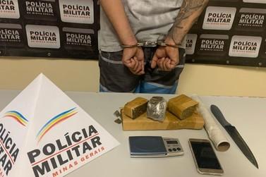 Polícia Militar faz apreensão de drogas em Santa Rita na manhã desta segunda (9)