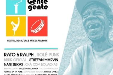 Acontece hoje o Festival de Cultura e Arte da Rua Nova