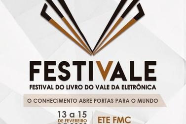 Festival do Livro acontece de 13 a 15 de fevereiro em Santa Rita do Sapucaí