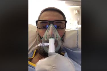 Covid-19: hospitalizado em Madri pouso-alegrense pede: fiquem em casa!
