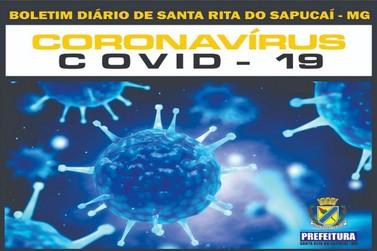 Covid-19: Permanece em 2 o número de casos suspeitos em Santa Rita do Sapucaí