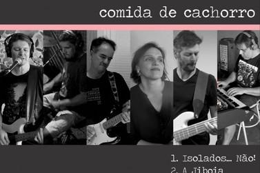 Banda de Pedralva compõe, grava, produz e lança música em completo isolamento