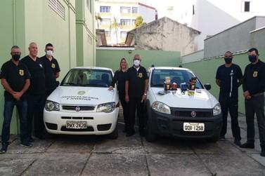 Empresa doa equipamento de sinalização para viatura do Comissariado de Menores