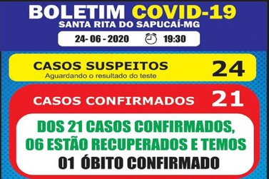 Santa Rita do Sapucaí registra primeiro óbito por Covid-19
