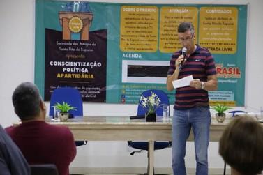 Conscientização política pretende sabatinar candidatos a prefeito e vereadores