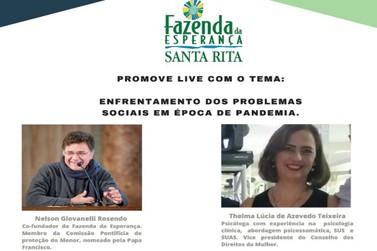 Live discute o enfrentamento dos problemas sociais em época de pandemia