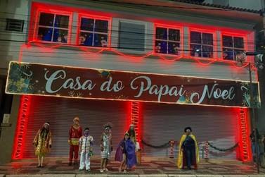 Sta. Rita do Sapucaí inaugura Circuito Iluminado de Natal que oferece 9 atrações