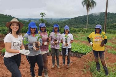 Comandado por mulheres Projeto Frutificar é destaque em fazenda de café