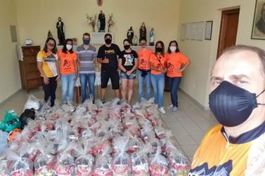 Campanha Solidária GoBikers arrecada 122 cestas básicas em Santa Rita