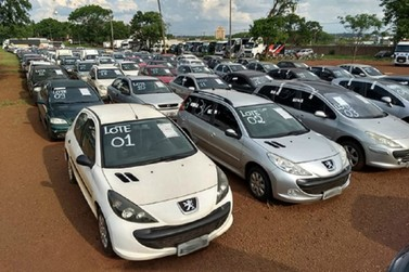 PCMG disponibiliza mais de 600 veículos em leilão virtual