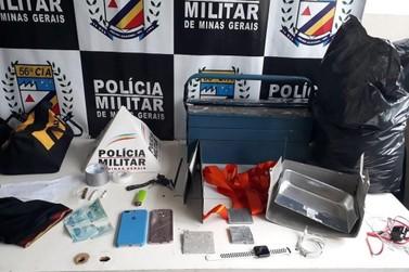 Polícia Militar apreendeu dispositivos de captura de envelopes em Pouso Alegre