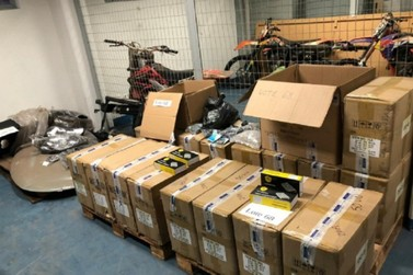 Receita Federal faz leilão de mercadorias em Poços de Caldas e Varginha
