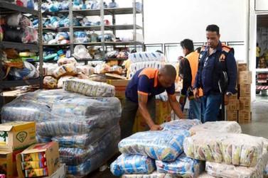 Defesa Civil envia 90 mil cestas básicas aos 853 municípios de Minas