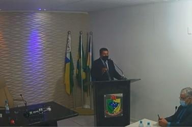 Câmara Municipal acata denúncia contra o vereador Adilson dos Santos