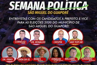 Começa hoje a Semana Política da OAB Subseção São Miguel do Guaporé