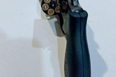 Arma é apreendida em São Miguel do Guaporé