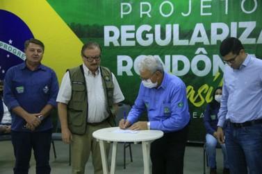 Estado e União firmam parceria para regularização fundiária rural em Rondônia