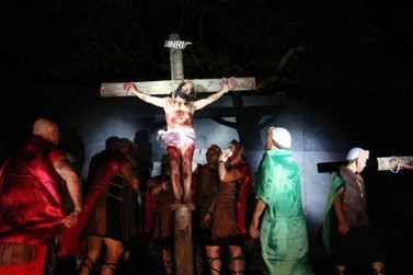 Espetáculo 'Paixão de Cristo' em Umuarama terá seis palcos e 28 cenas