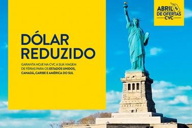 CVC congela preço do dólar para viagens internacionais