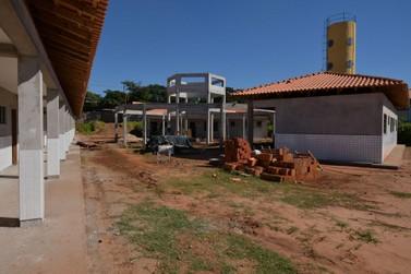 Ampliação da Escola São Francisco de Assis está em fase de acabamento