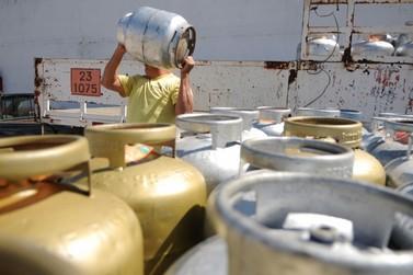 Gás de cozinha tem aumento médio de 6% em Umuarama