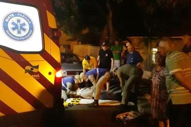 Motociclista fica ferida depois de cair ao desviar de cachorro em Umuarama
