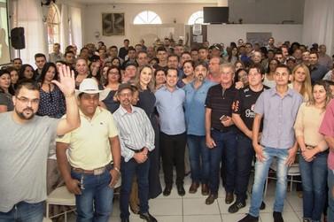 Encontro Regional de apoiadores de Marcelo Adriano reúne centenas de pessoas