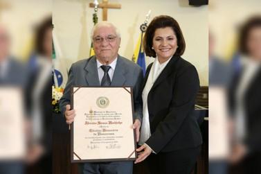Abraão Hachicho é titulado cidadão honorário de Umuarama