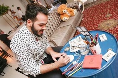 Ilustrador ofertará aula de desenho gratuita em Umuarama