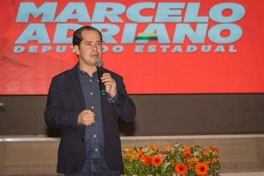 Marcelo Adriano lança oficialmente campanha em evento grandioso em Umuarama