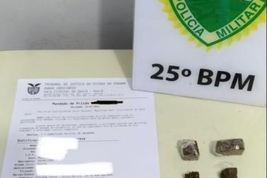Polícia Militar cumpre mandado de prisão por roubo em Lovat