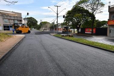 Anhanguera recebe reperfilamento  e em breve sinalização para semáforo