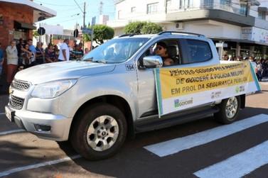 Prefeitura de Goioerê cede camionete S10 para Polícia Militar