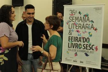 Semana Literária do Sesc Umuarama terá escritores premiados