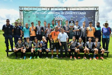Colégio Bento/Jardim União é o campeão do Interbairros Sub-15