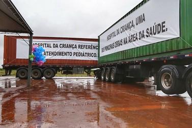Começa a construção do Hospital da Criança de Maringá