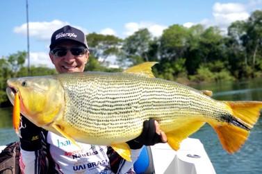 Empresário umuaramense bate recorde de pesca esportiva na Argentina