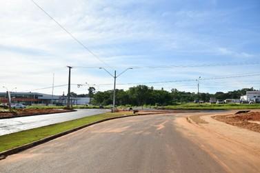 Acesso ao centro de Umuarama pelo Jardim Espanha recebe os últimos serviços