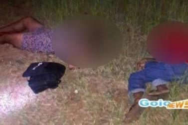 Casal é executado com mais de dez tiros em Moreira Sales