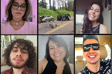 Identificadas todas as vítimas do acidente que matou empresário de Umuarama