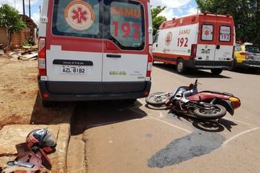 Motociclista morre após bater em viatura do Samu em Campo Mourão
