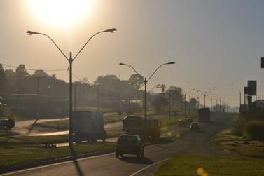 Terça-feira em Umuarama será ensolarada e máxima chega aos 33°C