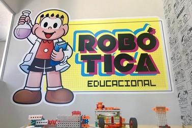 Ensina Mais Turma da Mônica abre matrículas para turmas de robótica
