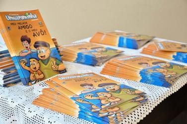 Gibi sobre cuidados com idosos será distribuído nas escolas de Umuarama