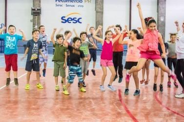 Sesc abre inscrições para o projeto Brincando nas Férias 2019