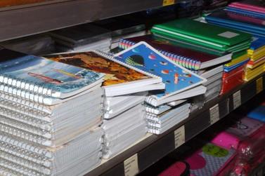Compra de material escolar exige atenção dos pais