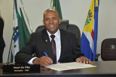 Noel do Pão é empossado presidente da Câmara de Umuarama