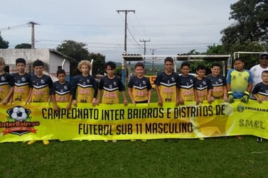 Interbairros de Futebol Sub-11 define os finalistas no domingo