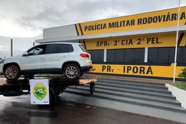 Polícia recupera em Iporã veículo roubado na capital do Estado